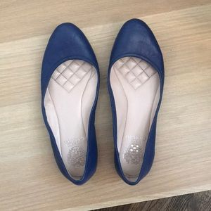 Vince Camuto blue flats!